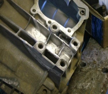 Repaired Gearbox