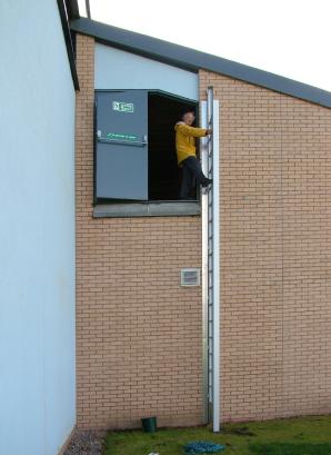 Small Folding Escape Ladder Bajsd